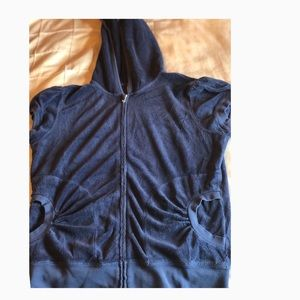 Juicy Couture Terry cloth zip up